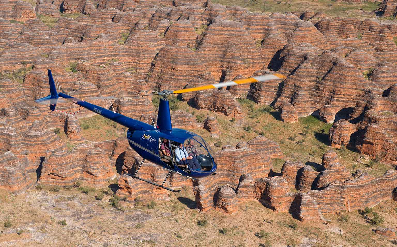 Scenic flight over the Bungle Bungles
