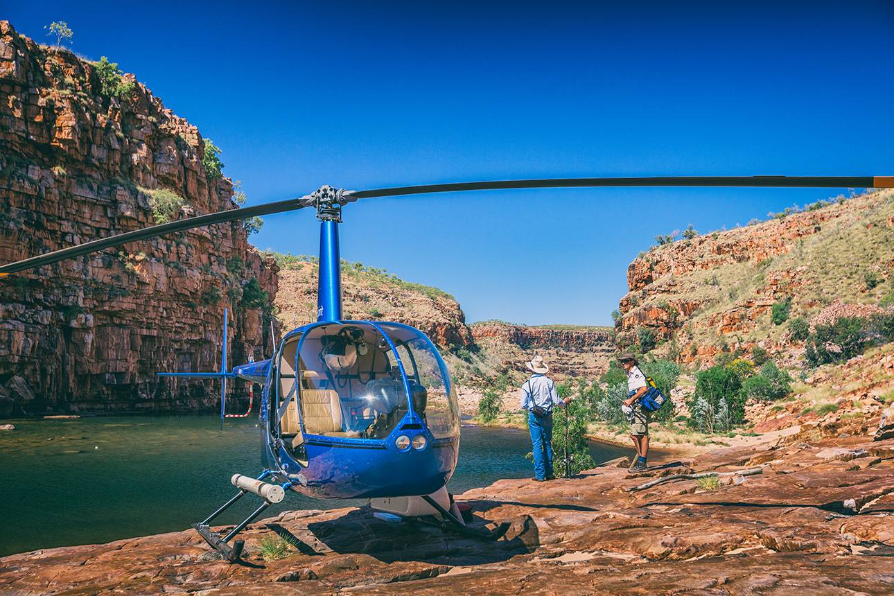 Heli-fishing Tour