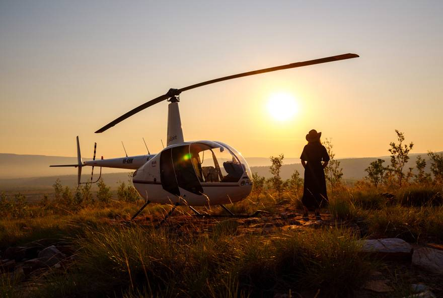 Helicopter Tours at El Questro