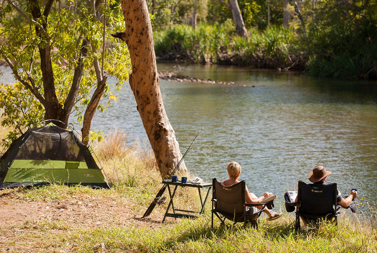 Camping & Caravan Parks In The Kimberley | El Questro, WA X And Check Icon